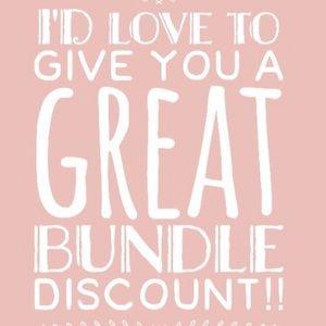 Bundle! I'll negotiate reasonable offers!